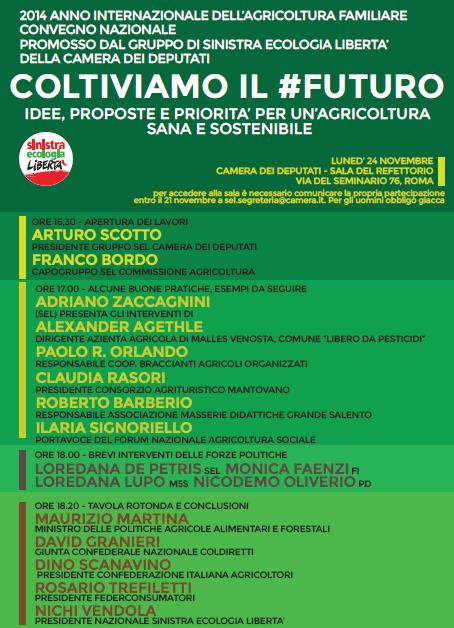 2014 anno internazionale dell agricoltura familiare for Grande disposizione della camera familiare