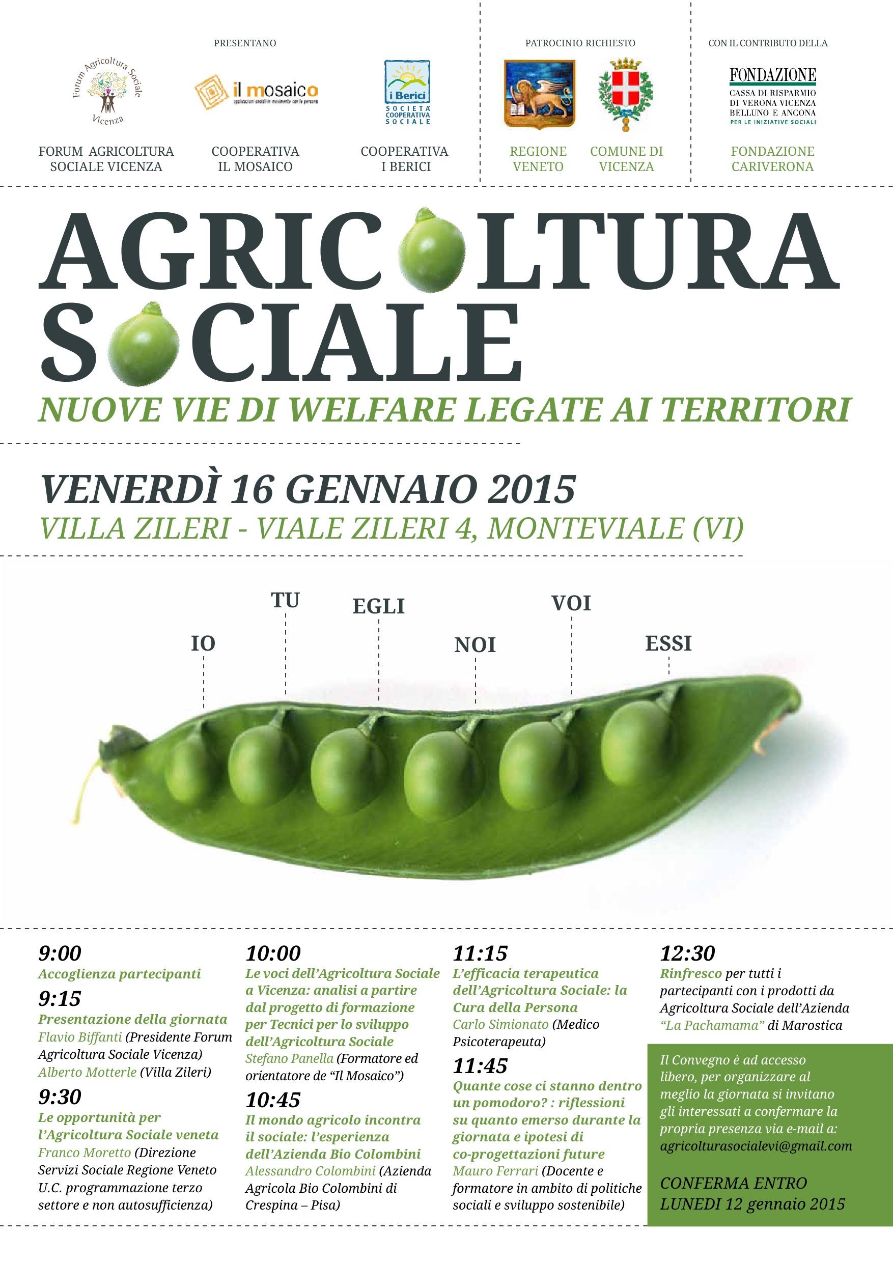 #AgricolturaSociale #welfare